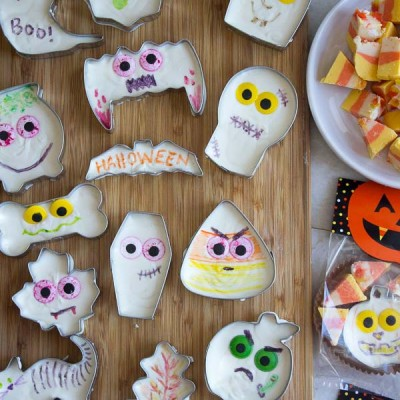 Easy Halloween Fudge