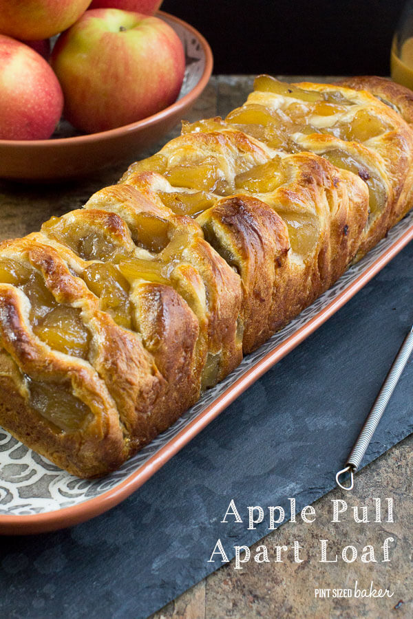 Make a loaf of Pull Apart Apple Bread for a breakfast treat or a warm fall dessert.
