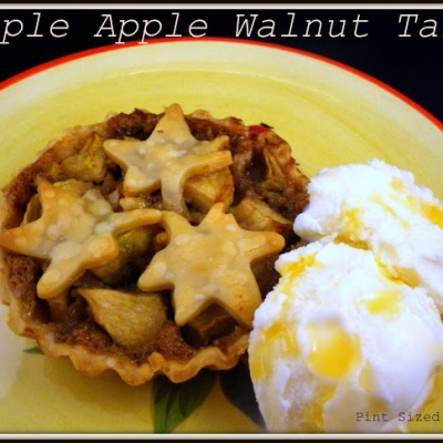 Maple Apple Walnut Tarts