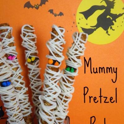 Mummy Pretzels