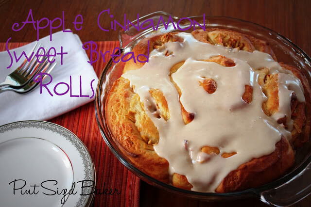 Apple Cinnamon Sweet Bread Roll