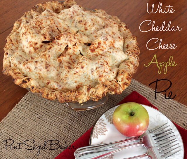 White Cheddar Apple Pie