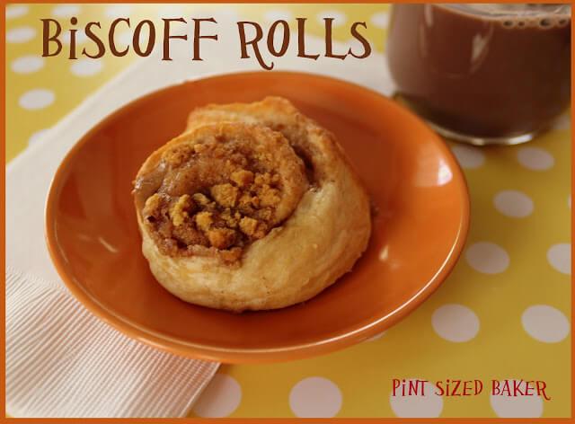 Biscoff Crescent Rolls