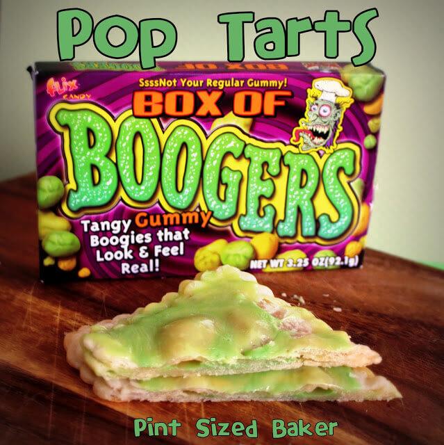 Booger Pop Tarts