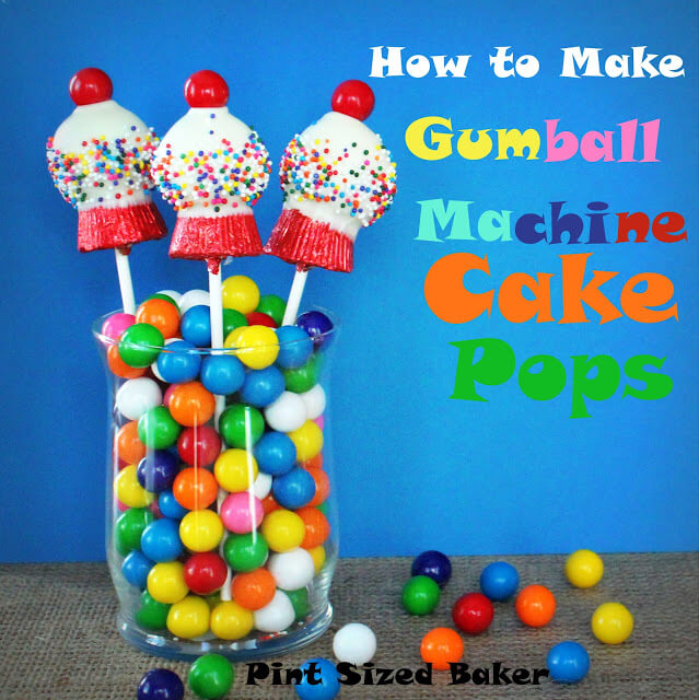 How to Make Gumball Machine Cake Pops