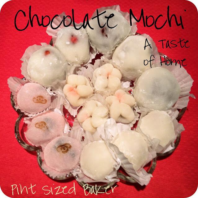 A Taste of Home – Chocolate Mochi