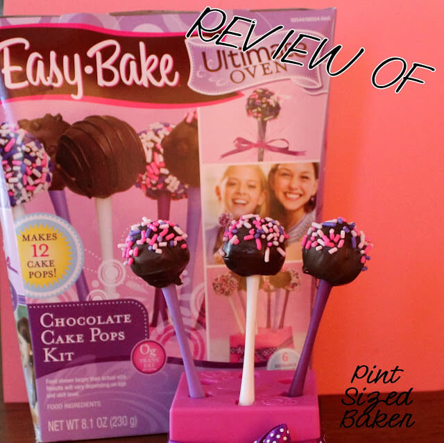 Review of Easy Bake Oven Cake Pop Kit