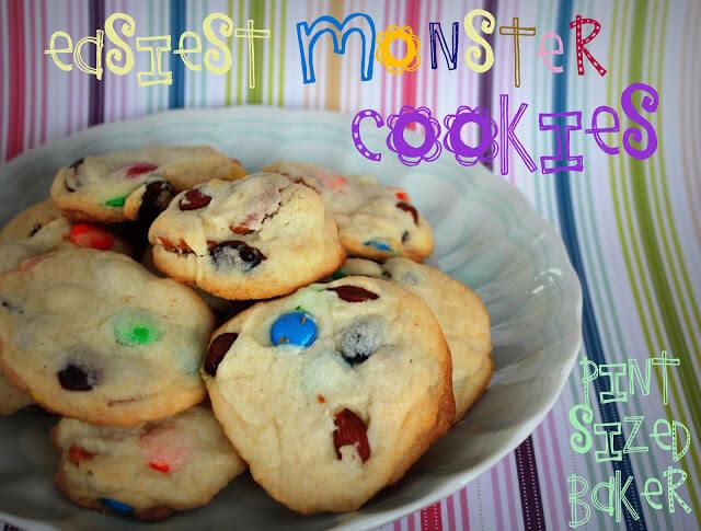 Easiest Monster Cookies Ever