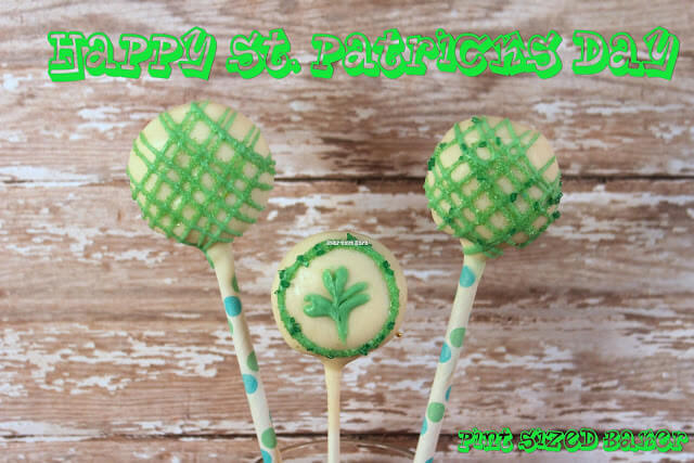 St. Pattie's Cake Pops