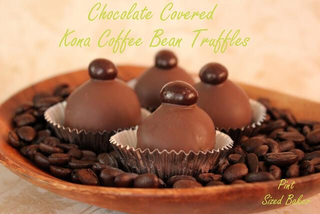 Kona Coffee Cake Truffles