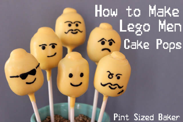How To Make Lego Head Cake Pops