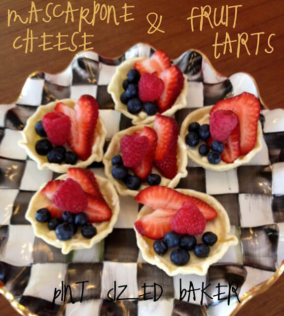 Homemade Mascarpone Cheese and Tarts