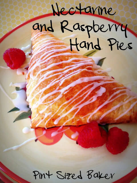 Nectarine Raspberry Hand Pies