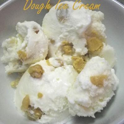 Peanut Butter Cookie Dough Ice Cream
