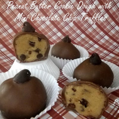 Peanut Butter Cookie Dough Truffles