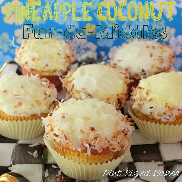 Pineapple Coconut Fun-da-Middles