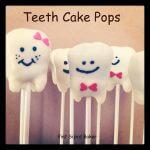 How To Make Teeth Cake Pops