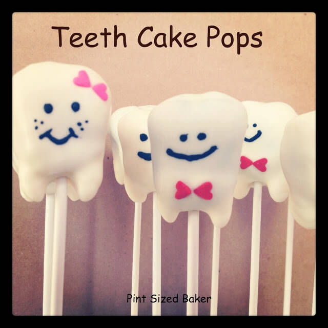 How To Make Teeth Cake Pops
