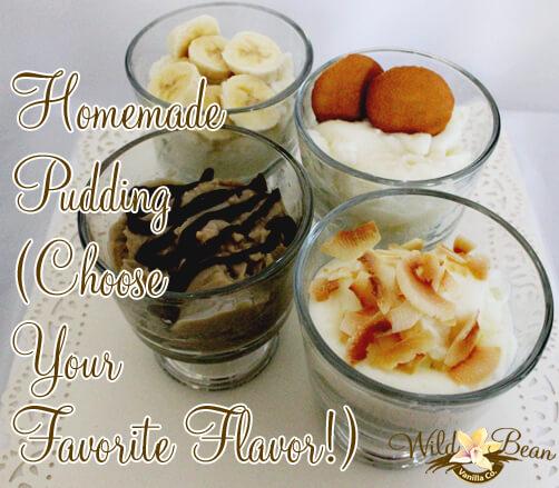 Vanilla Bean Puddings