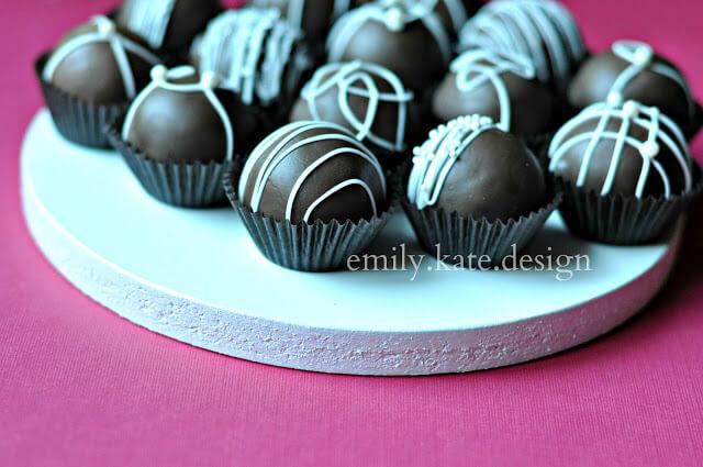 Classy Cake Truffles – by Emily.Kate.Designs