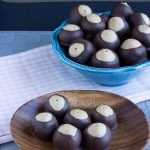 Quick and Easy Buckeye Candies. Whip these up in under an hour to add to your cookie platter.