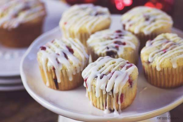 Cream Cheese Cranberry Muffins aren't just for breakfast. Cozy up at night with a muffin and a cup of tea for dessert.