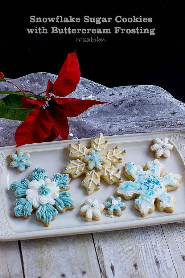 An image linked to another sugar cookie recipe with buttercream to decorate them.