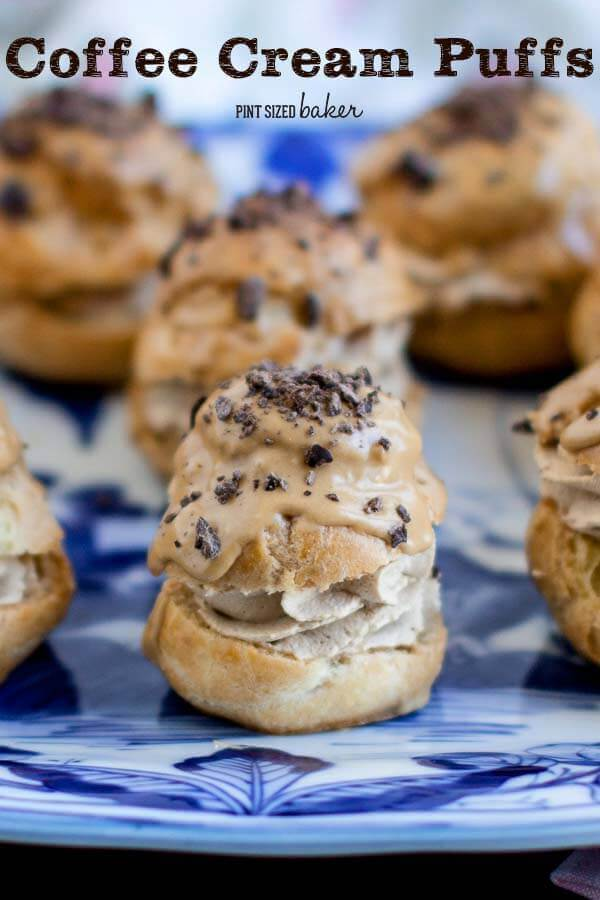 Coffee Buzz Cream Puffs | Scrumptious Cream Puff Fillings You Can Prepare In No Time