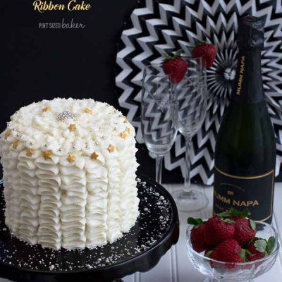 Black and White Birthday Cakes