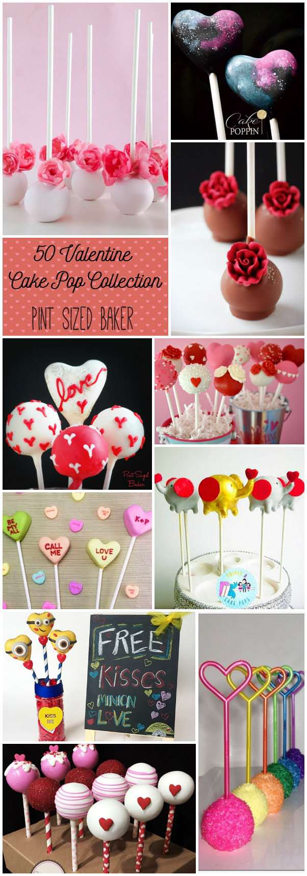 I'm loving this collection of 50 Valentine Cake Pops. they are the perfect way to show someone you love them!