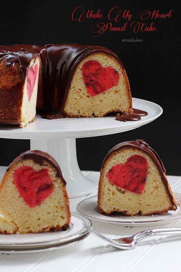 """Make My Heart Pound Cake!"" Yep! This homemade butter pound cake is going to totally impress my family members!"