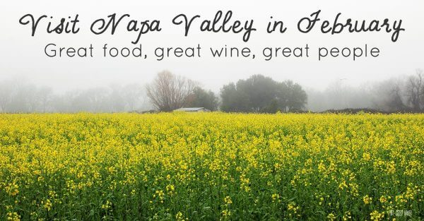 Sweet Destinations - Napa Valley, CA