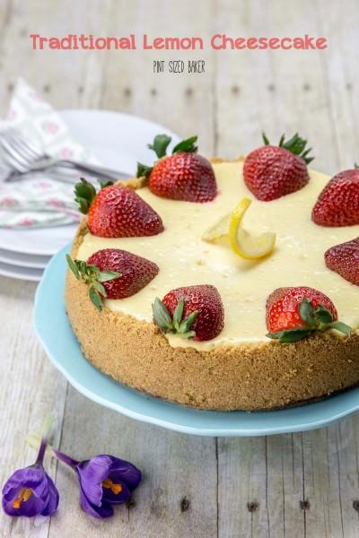 Traditional Lemon Cheesecake Recipe