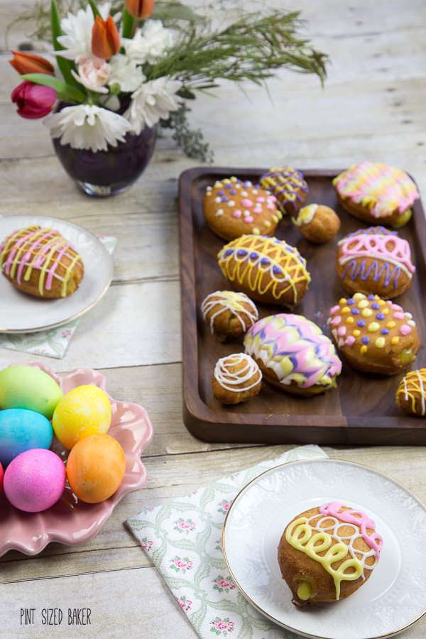 Grab the kids and make these fun Easter Egg Donuts for a yummy treat!