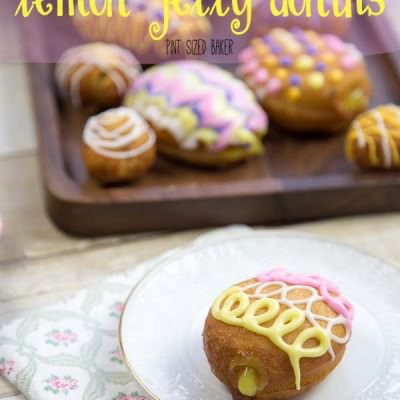 Easy Lemon Jelly Donuts