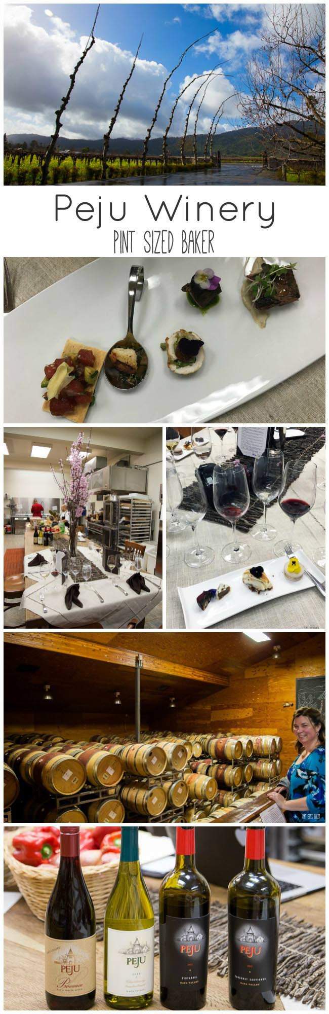 Enjoy an Interactive wine tasting experience in the Peju kitchens.