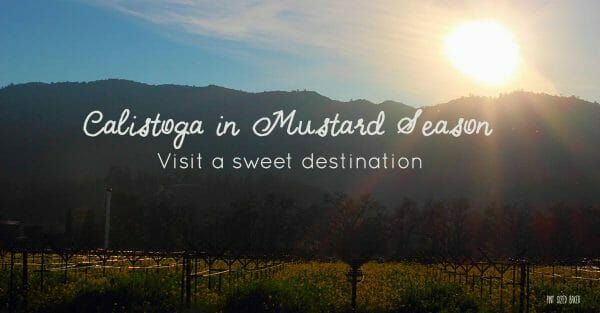 Visit a Calistoga, California. It's a sweet destination!