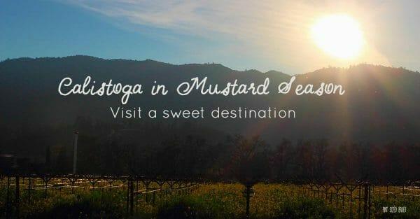Visit a Calistoga, California. It's a sweet destination!