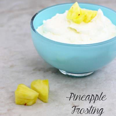 Pineapple Frosting