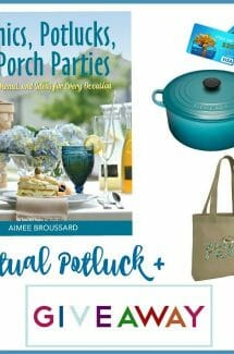 Picnics, Potlucks. and Porch Parties Giveaway