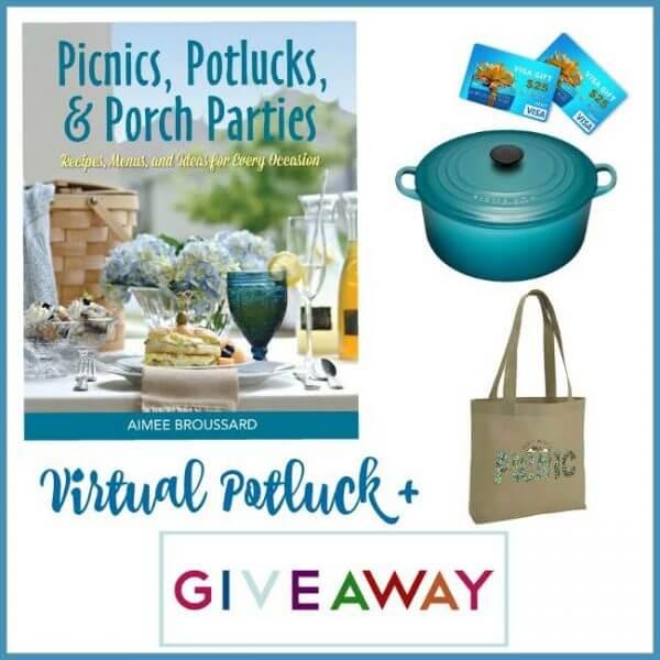 Picnics, Potlucks, and Porch Parties Giveaway