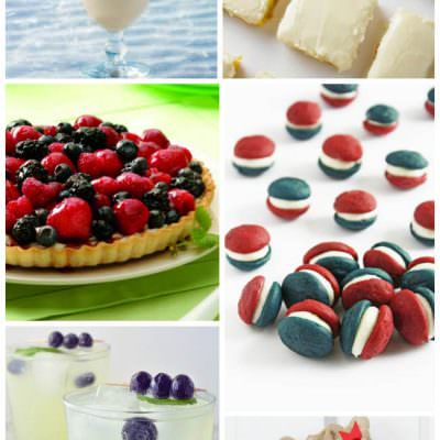 Red, White and Blue Treats – Two Cup Tuesday No.176