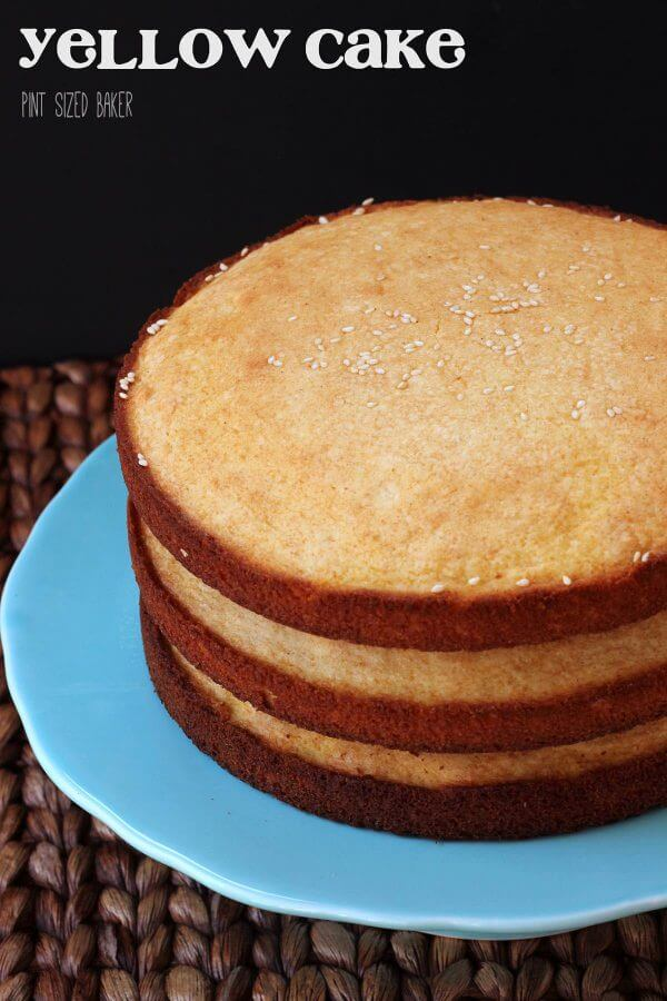 3 Layer Yellow Cake Recipe
