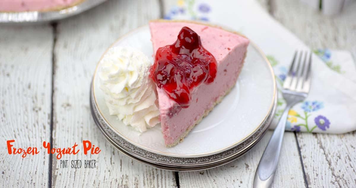 Homemade Birthday Cake Frozen Yogurt