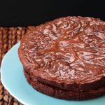 "Easy Fudgy Brownie Recipe. Made in round cake pans to add frosting to. Perfect ""cake"" for brownie lovers!"
