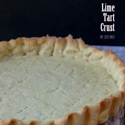 Lime Tart Crust