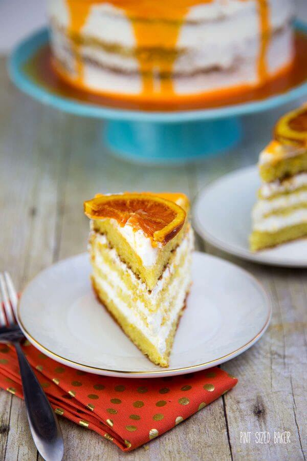 A delicious cake made with Olive Oil in place of the butter and flavored with sweet Cara Cara Oranges.