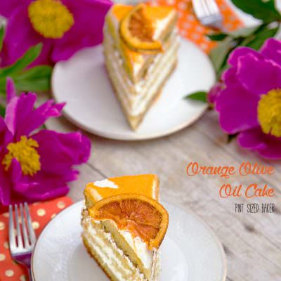 Orange Olive Oil Cake Recipe