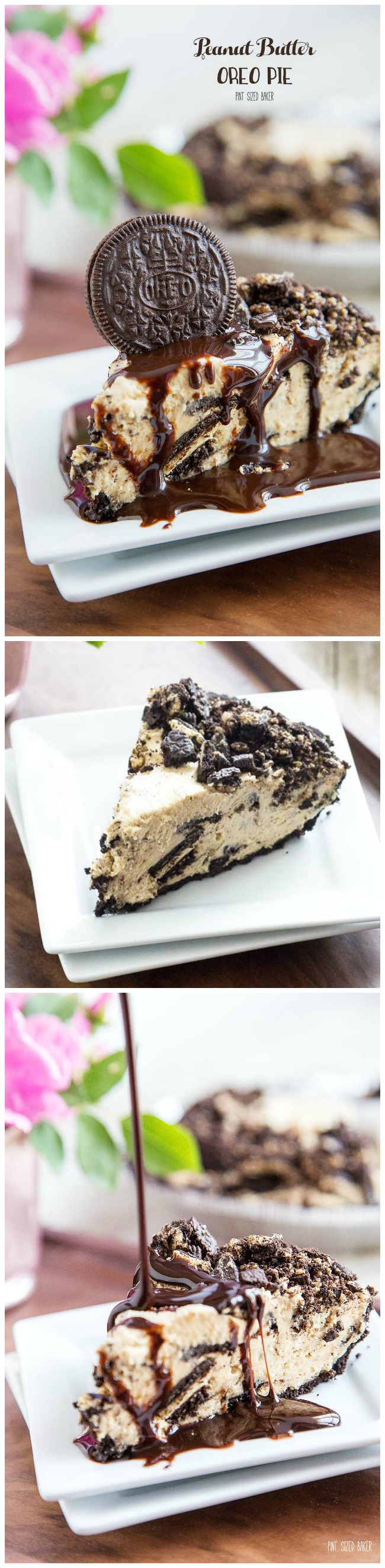 I'm making this quick and easy Peanut Butter Oreo Cookie Pie TODAY! Everyone at the party is going to love it!