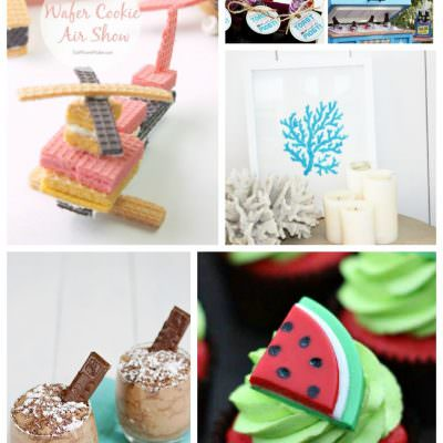 June Treats and Crafts